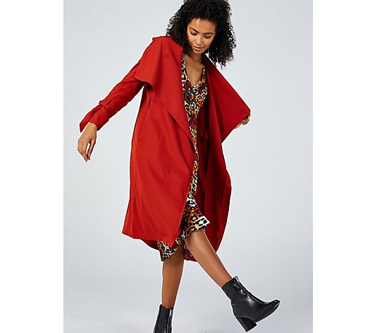 Outlet Little Mistress Oversized Trench Coat