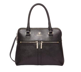 Modalu England Classic Pippa Vachetta Leather Handbag 158917