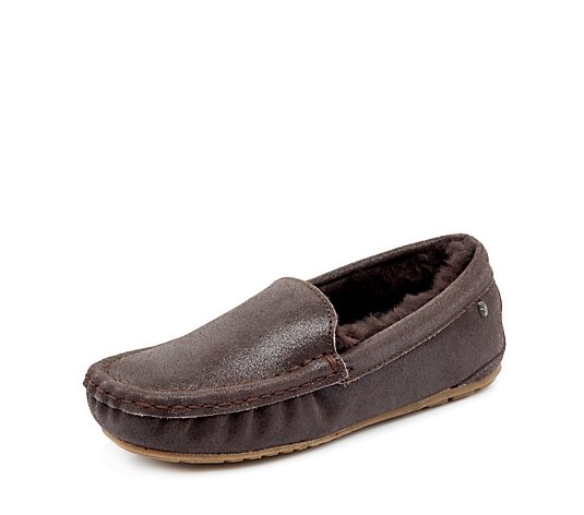 Emu Nest Talia Metallic Slipper