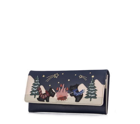 Radley Stay Stargazing Large Flap Over Matinee Wallet