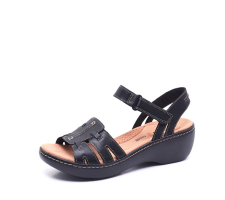 1cea1cceada Clarks Delana Nila Strappy Sandal Standard Fit - QVC UK