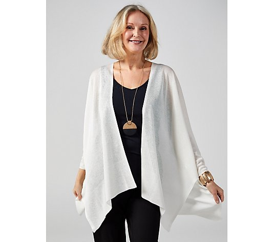 WynneLayers Fine Knit Open Front Cardigan
