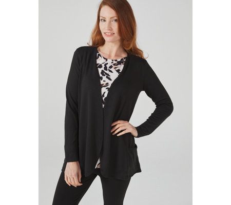 Kim & Co Soft Touch Cardigan with Pockets