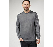 Dressage by Paul Costelloe Men's Merino Wool Crew Neck Sweater - 169119
