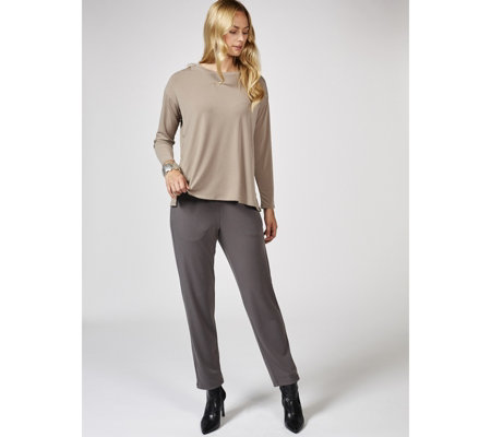 MarlaWynne Luxe Crepe Relaxed Trousers