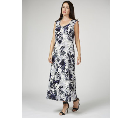 Grace Sleeveless Floral Maxi Dress