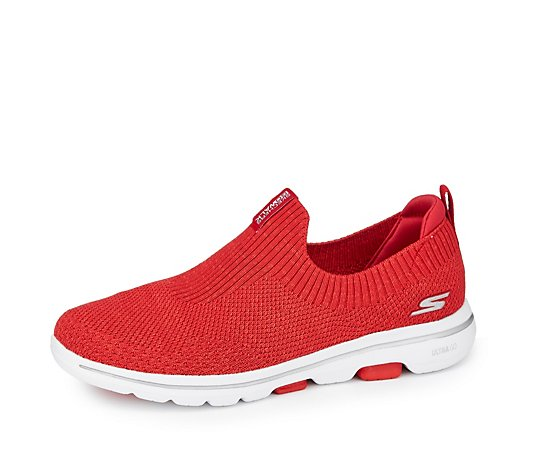 Skechers Go Walk 5 Trendy Two Tone Stretch Fit Slip On Trainer