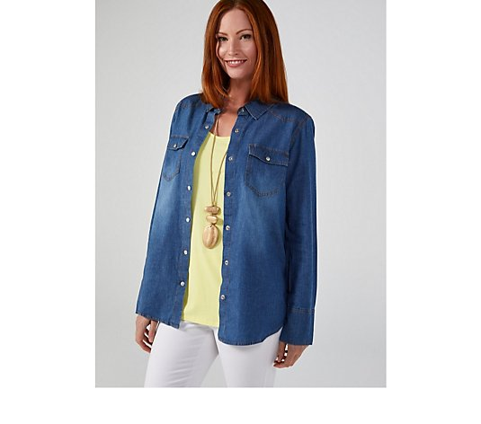 Ruth Langsford Denim Shirt