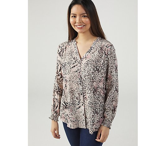 Together Animal Multi Blouse