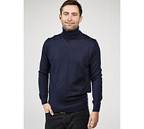 Dressage by Paul Costelloe Men's Merino Wool Roll Neck Sweater - 169120