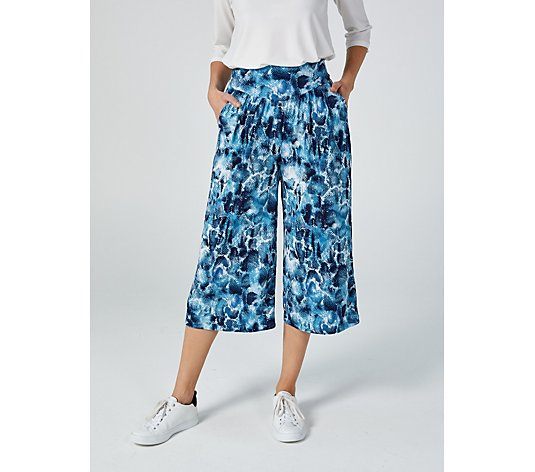 Kim & Co Printed Brazil Jersey Gaucho Trousers