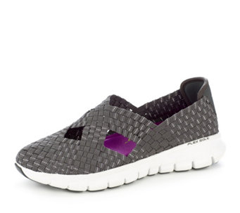 Skechers Synergy Stretch Weave Cross Over Mary Jane with Memory Foam - 157621