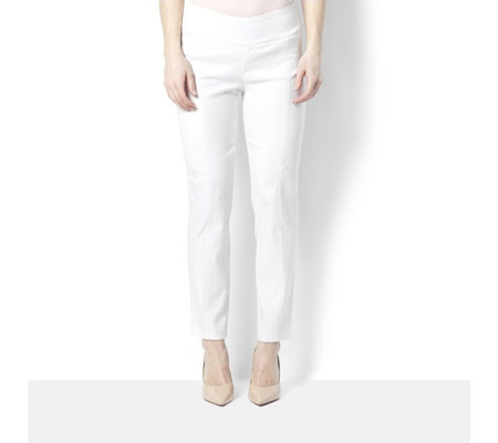 Millennium Stretch Petite Trousers with Tummy Control by Nina Leonard