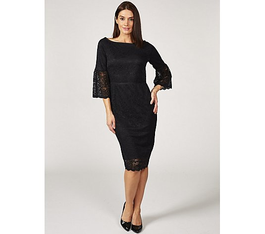 Ruth Langsford Fluted Sleeve Lace Dress