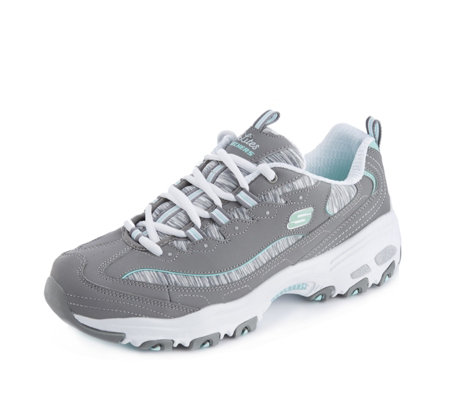 Skechers D'Lites Space Dyed Lace Trainer