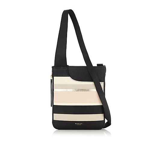 Radley London Pockets Stripe Crossbody Bag