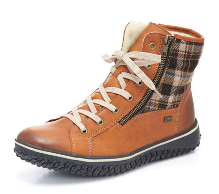 Skechers D'Lites Alps Mid Height Lace Up Hiking Boot QVC UK