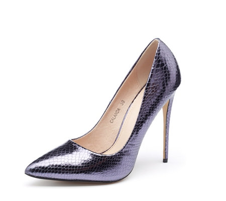 Moda in Pelle Calanda Point Court Shoe
