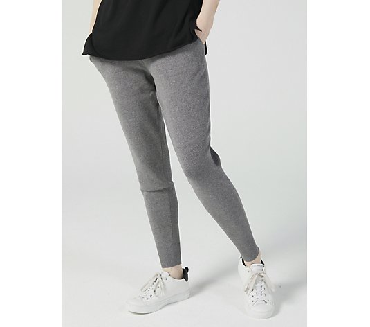 MarlaWynne Sweater Knit Pant with Pockets