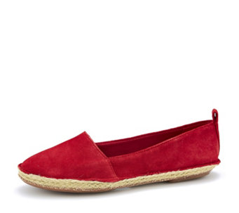 Clarks Clovelly Sun Slip On Espadrille Style Shoe - 163322