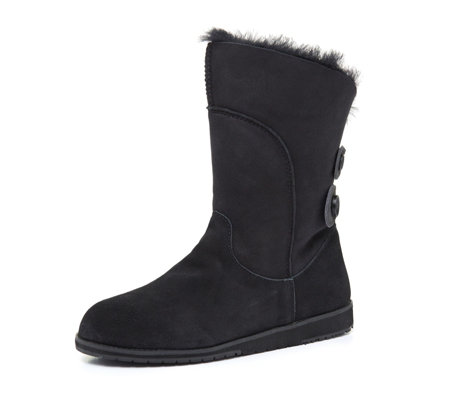 Emu Beach Collection Anda Double Faced Sheepskin Suede Boot