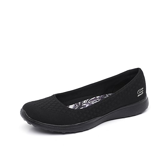 Skechers Microburst One Up Sporty Ballet Pump