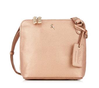 Ashwood Mini Leather Double Zip Crossbody Bag - 171123 7283e36f078a7