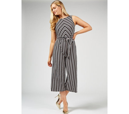 Du Jour Striped Jumpsuit Regular