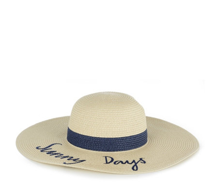 Joules Embroidered Sunhat