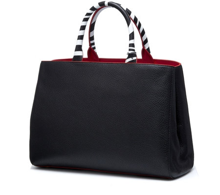 Lulu Guinness Amelia Triple Tone Tote Bag