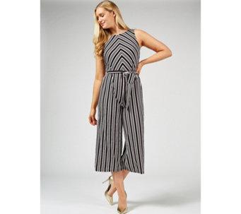 93078ad85df Du Jour Striped Jumpsuit Petite - 177224