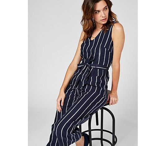 Phase Eight Jennie Stripe Jumpsuit