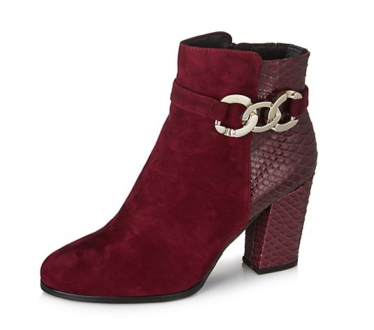 Outlet Moda in Pelle Latassi Ankle Boot