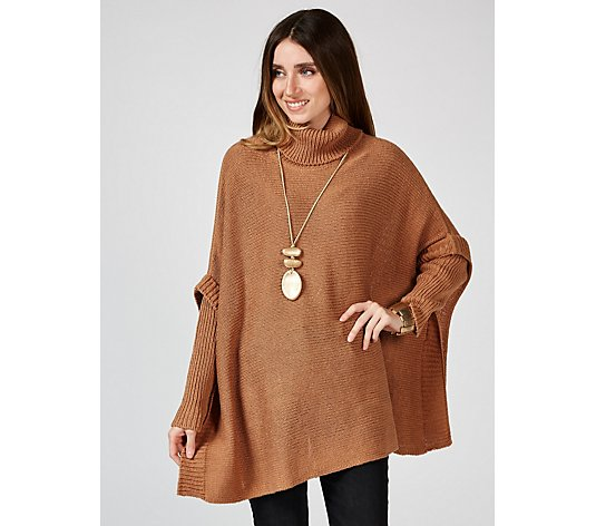 Outlet MarlaWynne Box Top Sweater with Rib Trim