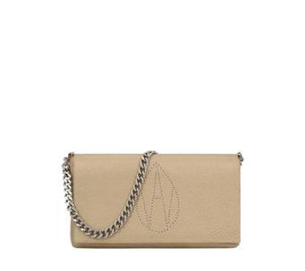 ac88873cbf Amanda Wakeley The Devine Clutch Bag with Chain Strap - 177625