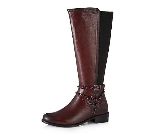 Moda in Pelle Tili Knee Riding Boot