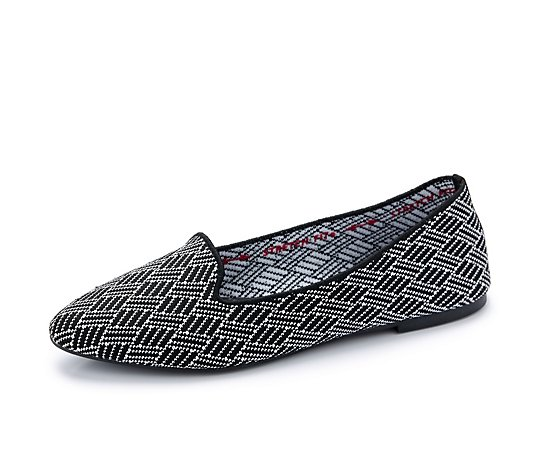 Skechers Cleo Huntington Printed Engineered Fabric Loafer