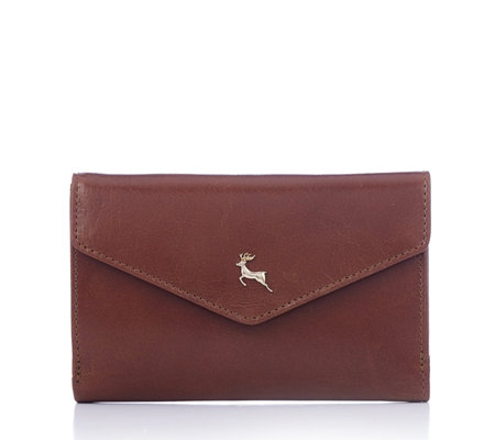 Ashwood Leather Zip Around Wallet