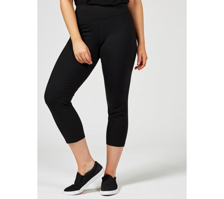 Women with Control Tummy Control Crop Trousers Petite
