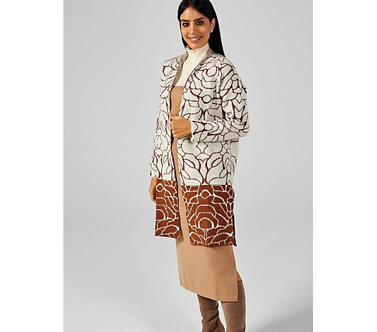 MarlaWynne Mixed Patterned Jacket