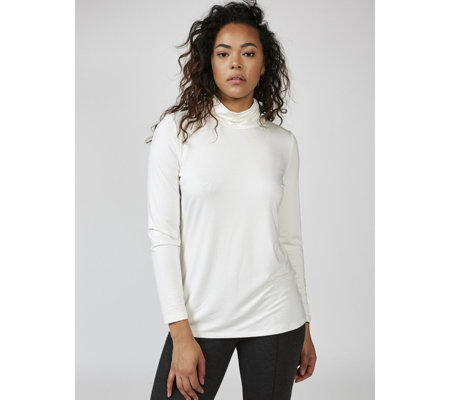 Mr Max Ultra Soft Aruba Knit Mock Neck Top