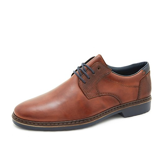 Rieker Men's Leather Lace Up Shoe