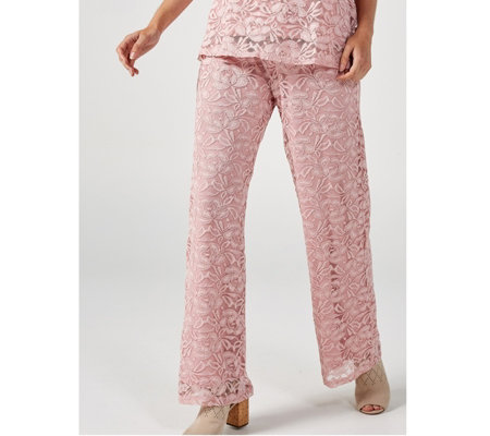 Antthony Designs Lace Trousers