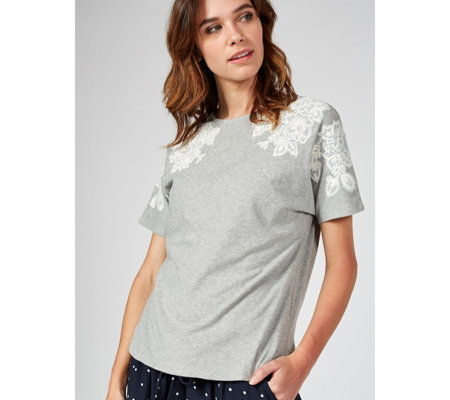 Phase Eight Lee Embroidered Top