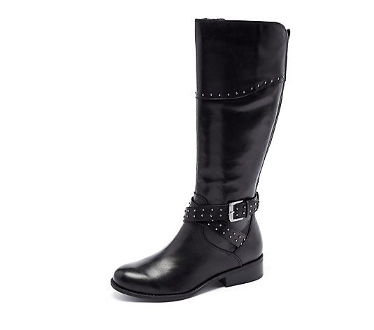 Marc Fisher Glila Knee High Boot Wide Calf