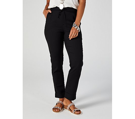 WynneLayers Crepe Cuffed Trousers