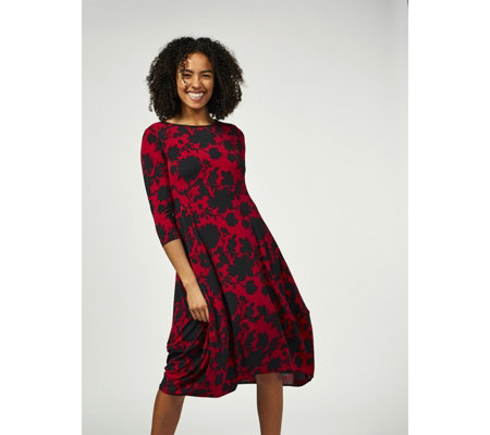 Yong Kim Stretch Edward Print Dress