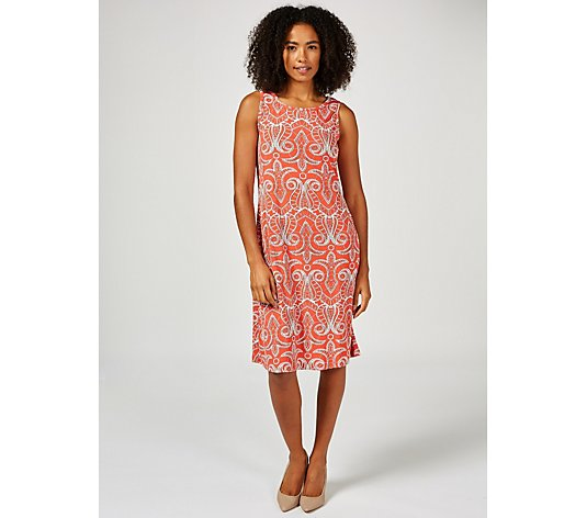 Ronni Nicole Sleeveless Puff Print Dress