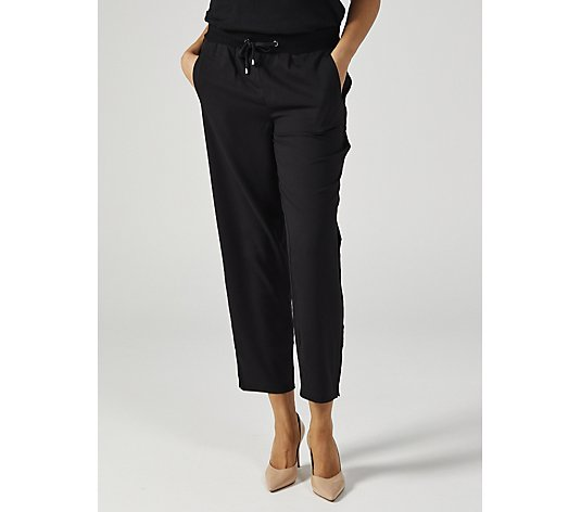 WynneLayers Pull On Crepe Trouser with Side Snaps