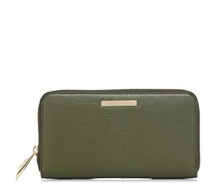Amanda Wakeley The Dylan Leather Zip Around Purse